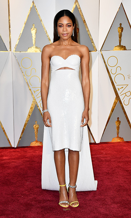 <h3>Naomie Harris in Calvin Klein</h3><p>Photo: © Getty Images</p>