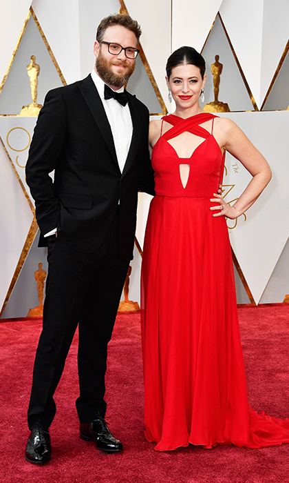 Seth Rogen and Lauren Miller