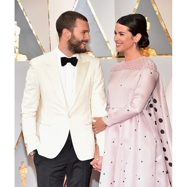 Jamie Dornan and wife Amelia