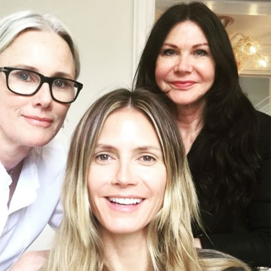 "<p>Heidi Klum shared a sped-up video with her fans, showing her red carpet transformation. The 43-year-old uploaded a clip showing her getting her hair and makeup done ahead of the big event, writing in the caption: ""Oscars glam from start to finish! @lindahaymakeup @wendyiles_hair #Oscars #Glam.""</p><p>Photo: © Instagram</p>"