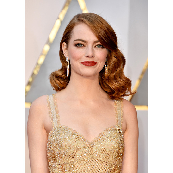 "Also wearing Tiffany & Co. was Best Actress winner Emma Stone. The <em>La La Land</em> star adorned her Givenchy, floor-grazing dress with ""Whispers of the Rain Forest"" earrings in platinum and 18K Gold. She also sported the company's ""Yesterday, Today, and Tomorrow"" ring with a yellow diamond centre-stone surrounded by several smaller white and yellow diamonds. (A similar ring retails for $110,000.)