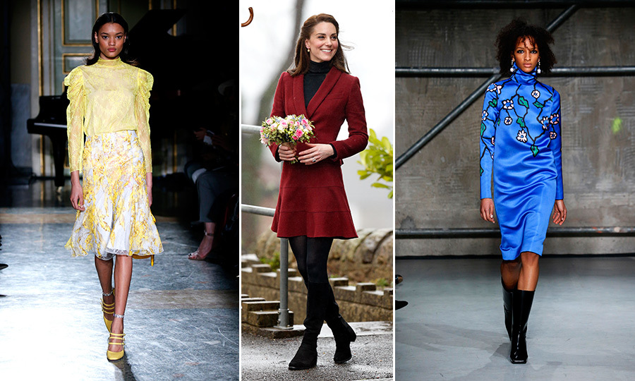 Milan Fashion Week served up a parade of vibrant hues, polished silhouettes and fun and feminine frocks that need to walk off the runway and straight into the Duchess of Cambridge's enviable closet. 