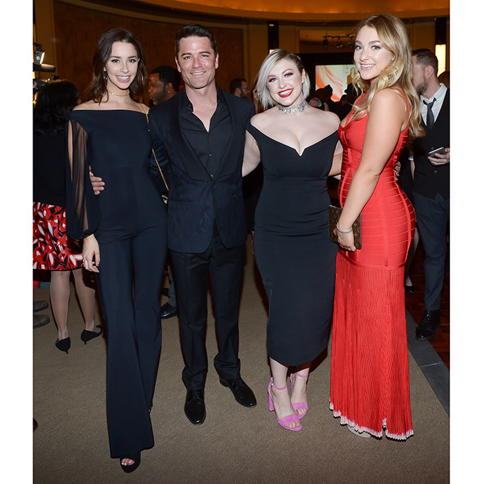 <h3>ACTRA Awards</h3><p>Dominique, Mikaela, Briana and Yannick Bisson</p><p>Photo: © George Pimentel Photography</p>