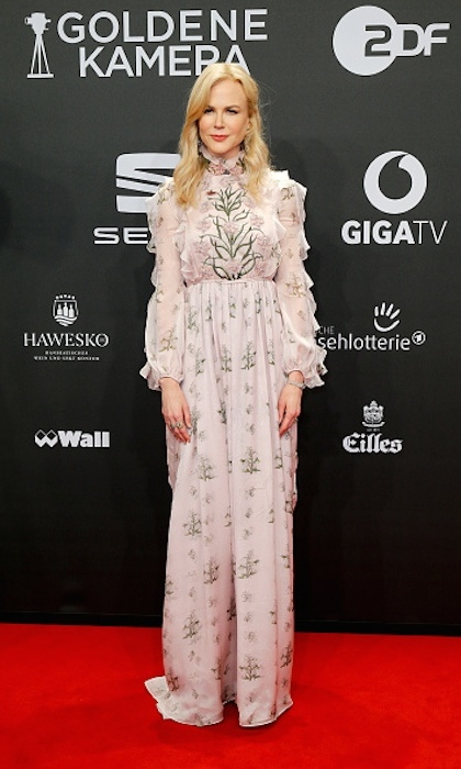 <strong>Mar. 4:</strong> Nicole Kidman also graced the red carpet at the Goldene Kamera awards.