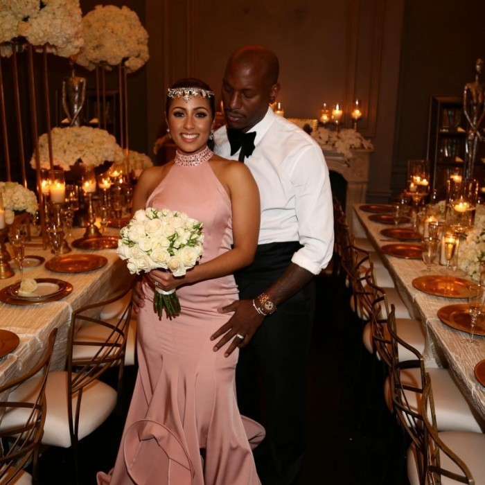 <h3>Tyrese Gibson and Samantha Lee</h3>