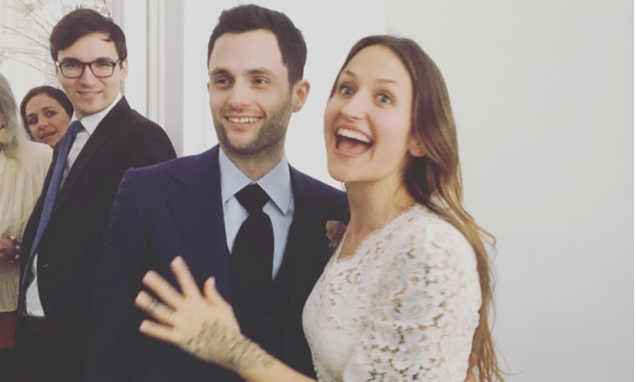 <h3>Penn Badgley Domino Kirke</h3>