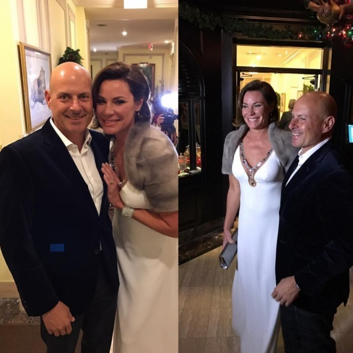 <h3>LuAnn de Lesseps and Tom D'Agostino</h3>
