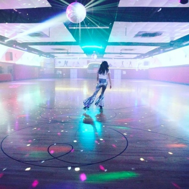 "Jessica Biel showed off her rolling-skating birthday ensemble in an Instagram, writing: ""This is what birthday dreams are made of. Thank you, my love, for throwing me the most epic jam skate party ever. My inner Xanadu was fully realized. I love you to the moon and back. And then back again."" She is, of course, thanking her husband, Justin Timberlake, for the epic 35th birthday rolling skating party. Photo: Instagram/@jessicabiel