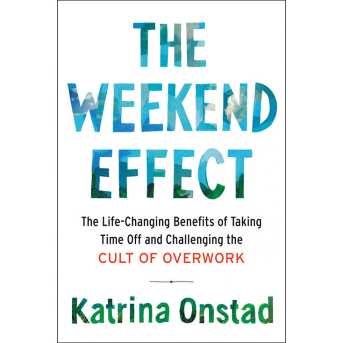 <h3><em>The Weekend Effect: The Life-Changing Benefits of Taking Time off and Challenging the Cult of Overwork</em> by Katrina Onstad</h3><p>Anyone with a job, a smartphone and a constant, low-simmering sense of stress will rejoice at Onstad's deeply researched call to embrace the lost art of chilling out. April 18.</p>
