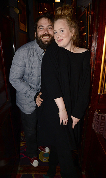 <h3>Adele and Simon Konecki</h3>
