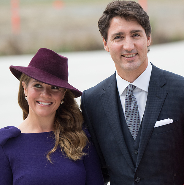 Sophie and her husband Justin Trudeau