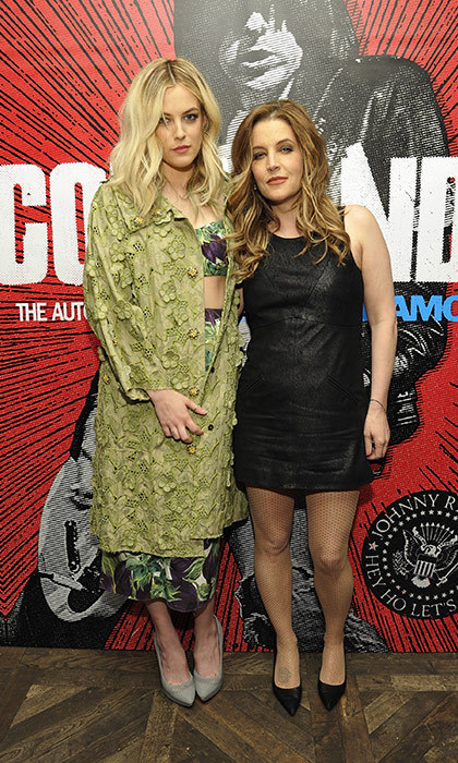 Lisa Marie Presley and Riley Keough