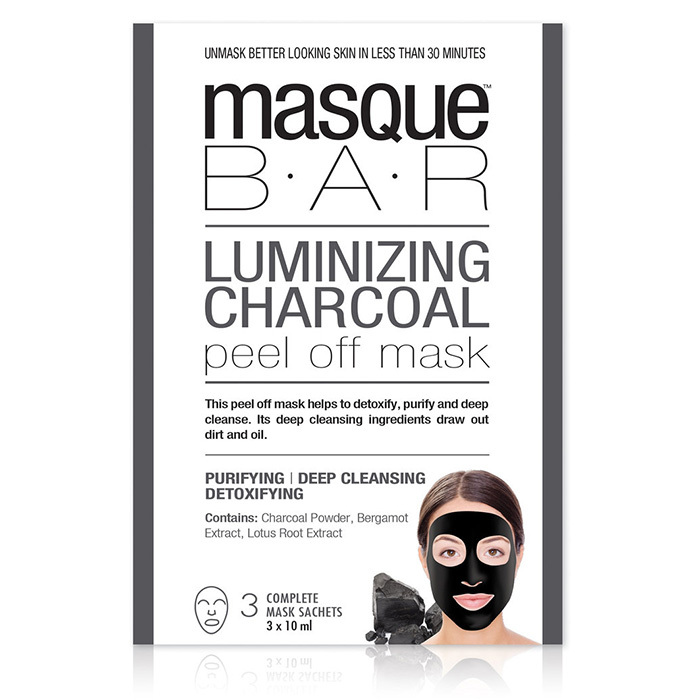<p>Masque B.A.R Luminizing Charcoal Peel-Off Mask, $10, at Shoppers Drug Mart</p>