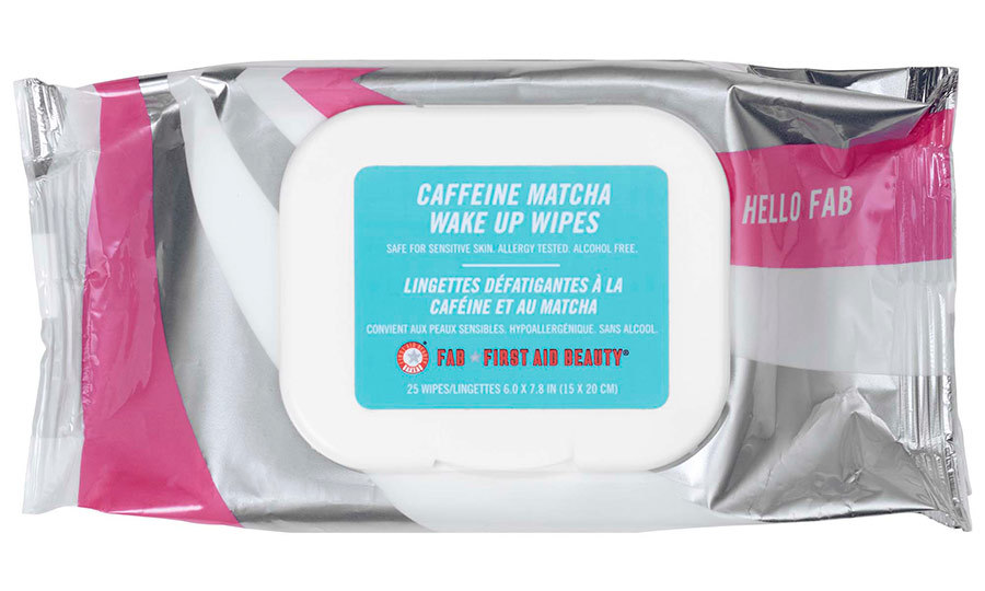 <p>Hello FAB Caffeine Matcha Wake Up Wipes, $18, <em>sephora.ca</em></p>