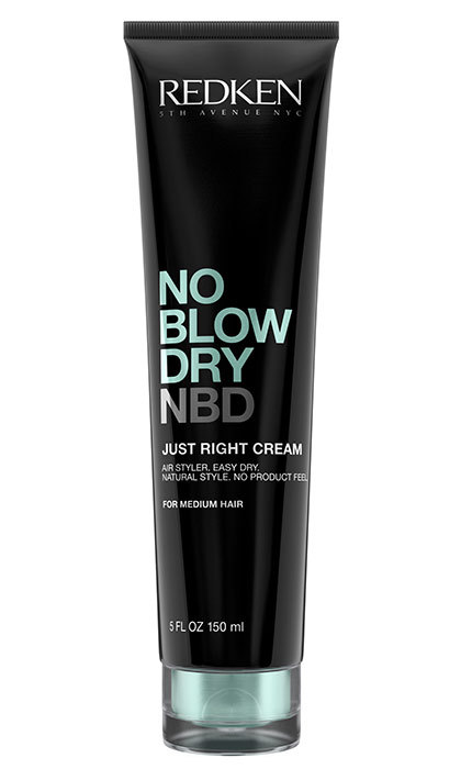 <p>Redken No Blow Dry Airy Cream, $24, at Redken Salons, <em>redken.ca</em></p>