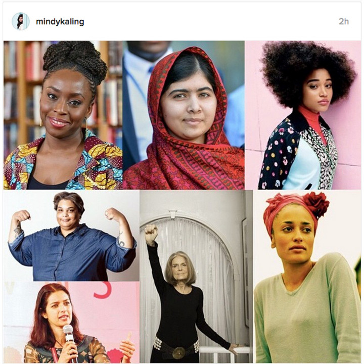 <h3>Mindy Kaling</h3>