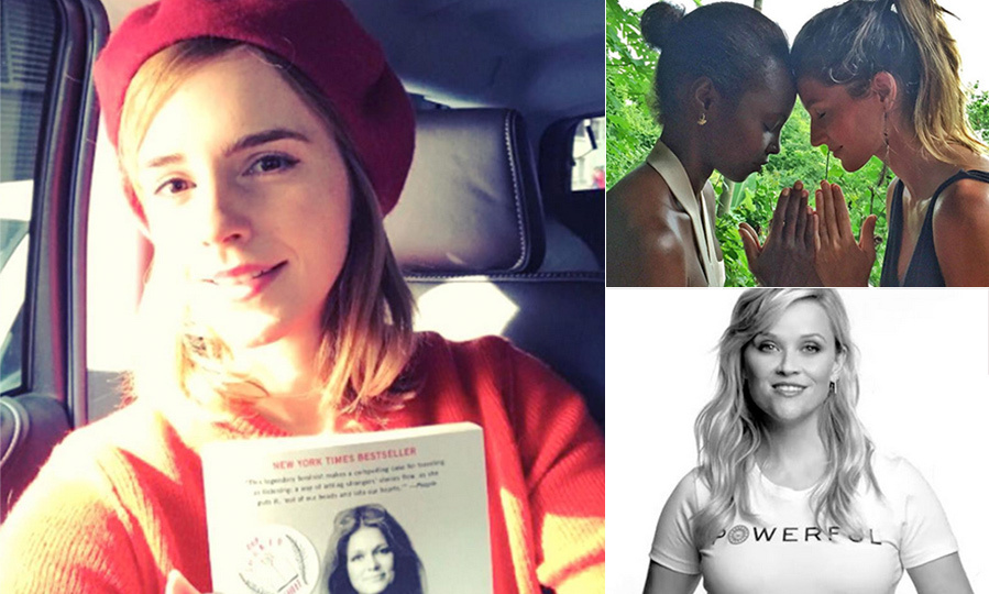 Emma Watson, Reese Witherspoon, Gisele and more stars took to social media on Mar. 8 to celebrate International Women's Day. From inspiring messages to calls to action, Hollywood's leading ladies are taking a stand for women around the world.