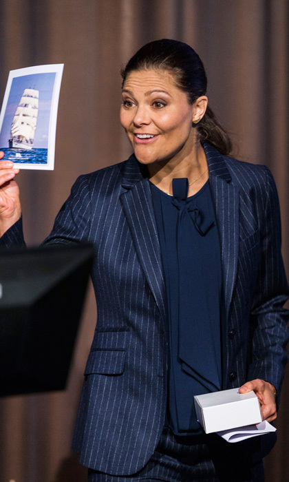 Crown Princess Victoria made her first official appearance of the year attending the inauguration of the 2017 Baltic Sea Future Congress held at the Stockholm International Fairs & Congress Centre. 