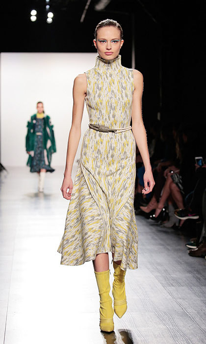 "<p><strong>New York Fashion Week</strong></p><p>Nepalese-American designer Prabal Gurung has built a career based on a signature look that can best be described as ""femininity with an edge""—which is why he's the perfect designer to dress Kate, the modern royal. The mother-of-two, who previously wore one of his creations back in 2012, would look dashing in this high-neck sleeveless day dress from his fall 2017 collection.</p><p>Photo: © Getty Images</p>"
