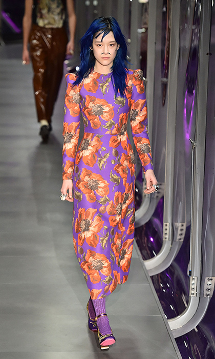 <p><strong>Milan Fashion Week</strong></p><p>Kate has yet to meet a floral print she didn't obsess over, so this vibrant Gucci print will not only appease her botanic desires, it is also guaranteed to blossom another best-dressed moment.</p><p>Photo: © Getty Images</p>