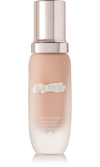 "<p>""I love this new foundation because it's full of ingredients that benefit your skin."" La Mer The Soft Fluid Long Wear Foundation SPF 20 in Linen, $140, at Holt Renfrew, <em>holtrenfrew.com</em></p>"