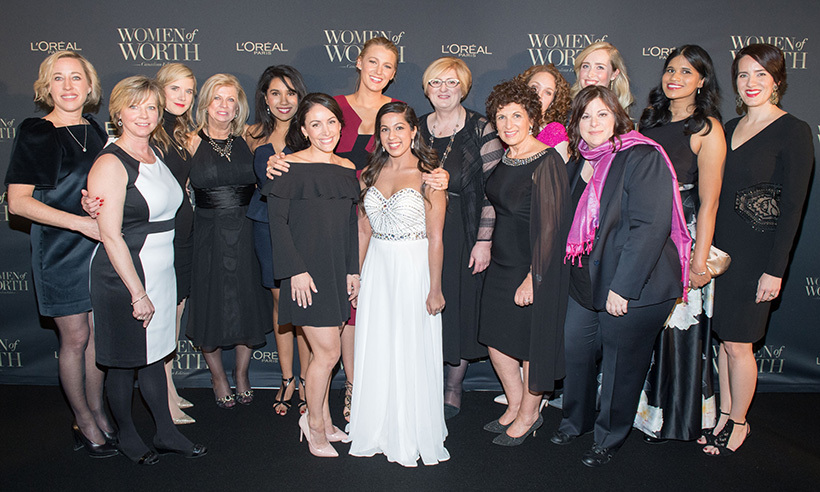 <p><strong>L'Oréal Women of Worth</strong></p><p>Blake Lively and L'Oréal executives</p><p>Photo: &copy; Ryan Emberley</p>