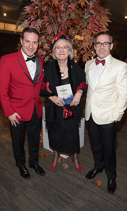 <p><strong>National Ballet School Canadiana Gala</strong></p><p>Marco Mendicino MP, The Hon. Carolyn Bennett and John Dalrymple</p><p>Photo: &copy; Ryan Emberley</p>