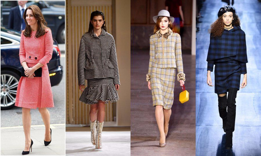 <strong>1) MATCHING SKIRT SUITS </strong>