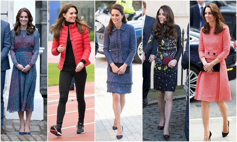 A case of the Kate effect? These 8 fashionable 2017 catwalk trends may seem very familiar to fans of the Duchess of Cambridge....