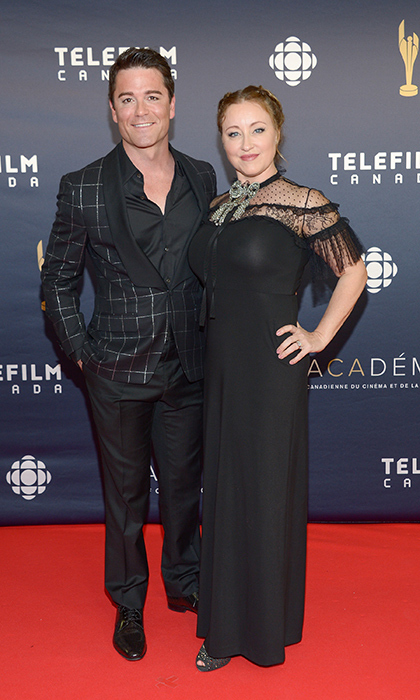 Yannick Bisson and Chantal Craig 
