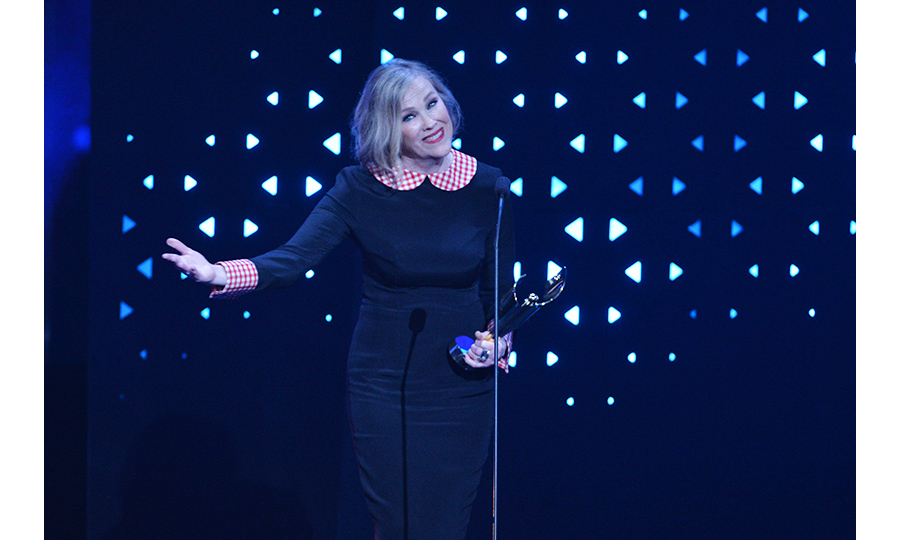 Leave it to Catherine O'Hara to deliver the night's most LOL acceptance speech. While the iconic Canadian actress was delighted to win the award for Best Actress in a Comedy series, she was quick to note that the moment would mean more to her <em>Schitt's Creek</em> character Moira Rose.