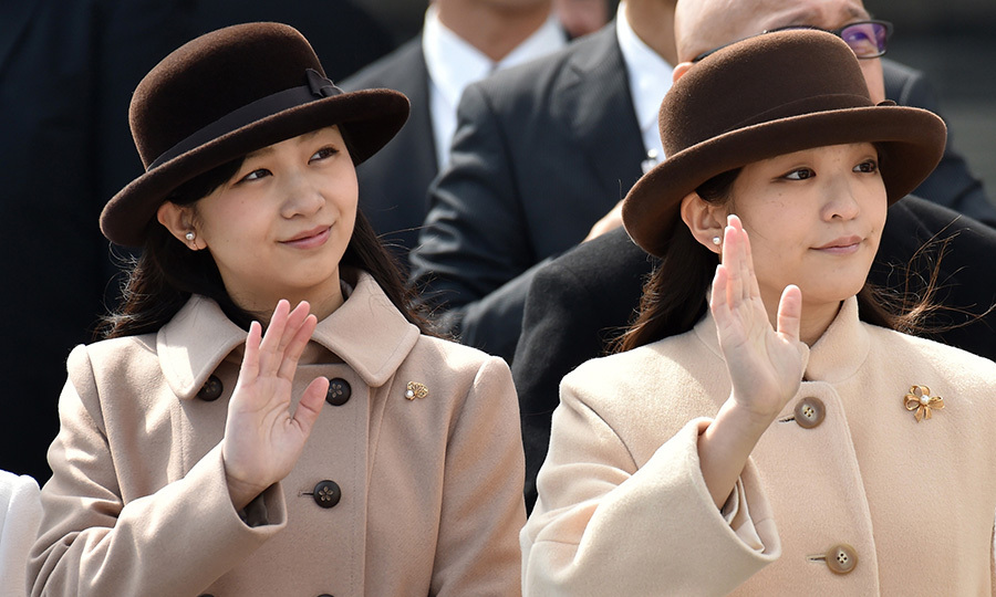<h3>PRINCESS MAKO AND PRINCESS KAKO OF JAPAN</h3><p>They're the latest jewels in the crown to shine for the Japanese monarchy. Princess Mako and Princess Kako, the daughters of Emperor Akihito's second son Prince Akinisho and his wife Kiko, have gained a following in the last few years for their winning looks and elegant demeanor.</p><p>Mako and Kako are so in sync they often coordinate their outfits right down to the color and accessories, as well as having very similar gestures.</p><p>Photo: &copy; Getty Images</p>