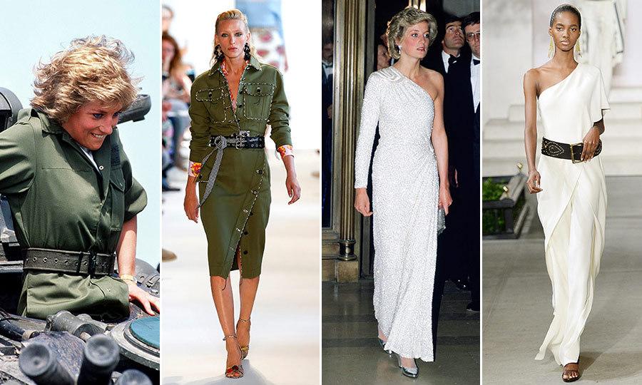 How Princess Diana S Style Ruled The Spring Runways Hello Canada