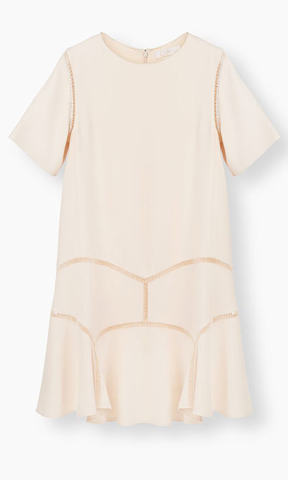 <p>Chloé A-line Dress, $2,334, <em>chloe.com</em></p>