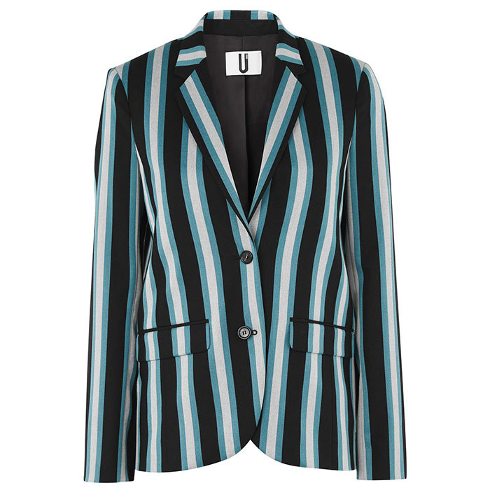 <p>Beale Regatta Blazer by Unique, $380, at Hudson's Bay, <em>thebay.com</em></p>