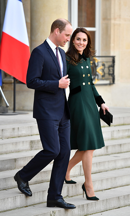 Prince William and Kate are in Paris for two days on an official visit.