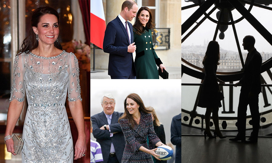Prince William and Kate's whirlwind visit to Paris has come to an end! The Duke and Duchess of Cambridge headed back to the UK on Saturday afternoon, where they'll be reunited with their children Prince George and Princess Charlotte, and no doubt share anecdotes from the trip.