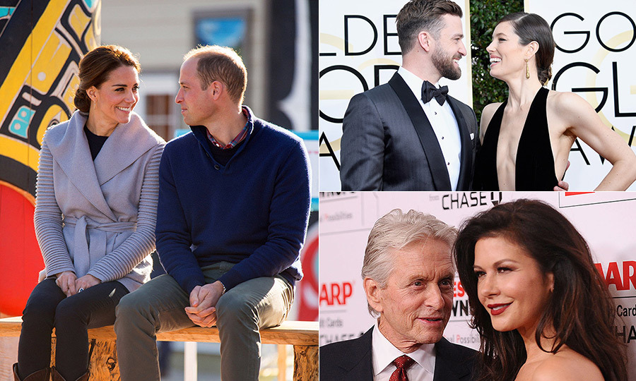 A breakup may seem like the end of a love story, but that's not always the case. Quite a few celebrity couples have called quits on their relationships before ultimately finding their way back together (think Miley and Liam and even Prince William and Kate!).