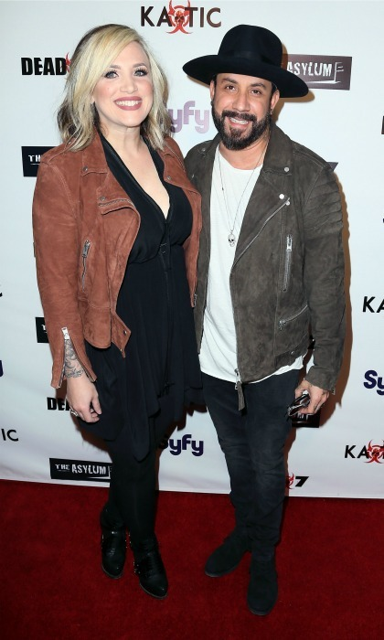 "<p><strong>A.J. McLean and Rochelle DeAnna Karidis</strong></p><p>Daddy-of-two! Backstreet Boys member A.J. McLean and his wife are proud parents of two little girls. The <em>Quit Playing Games with My Hear</em>t singer's rep confirmed to People magazine that the couple's second daughter was born in Los Angeles on March 19 weighing in at 8lbs, 3 oz. ""Having two baby girls is a dream come true and we couldn't be any more proud or excited to welcome Lyric Dean McLean into the world and into our family,"" the proud dad told People magazine.</p><p>Lyric joins big sister Ava James, four.</p><p>Photo: Getty Images</p>"