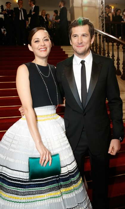 <h2>Marion Cotillard and Guillaume Canet</h2>