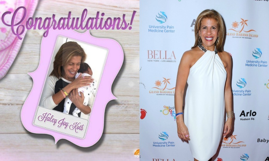 "<p><strong>Hoda Kotb</strong></p><p>The <em>Today Show</em> co-anchor revealed that she adopted a little girl. The fourth-hour co-host called in to the show and shared that she is now a mother to Haley Joy Kotb, who was born on Valentine's Day.</p><p>Hoda explained the inspiration behind the little girl's name. ""It was one of those things. I just picture her sailing through the sky. She brings us joy. She's got a beautiful way about her.""</p><p>This is Hoda's first child.</p><p>Photo: Instagram/@hodakotb/Getty Images</p>"