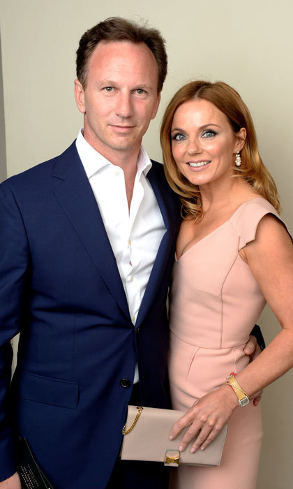 "<p><strong>Christian Horner and Geri Halliwell</strong></p><p>The former Spice Girls member and her husband welcomed their first child, a son, together in January. Geri, who is a mother to daughter Bluebell from a previous relationship, and stepmother to Christian's daughter, Olivia, announced the news on Instagram. ""Montague George Hector Horner arrived this morning, a beautiful little brother for Bluebell and Olivia #amazing-day #grateful #monty,"" she said.</p><p>Photo: Dave J Hogan/Getty Images</p>"