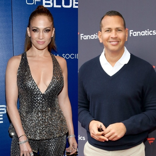 <h3>Jennifer Lopez and Alex Rodriguez</h3>