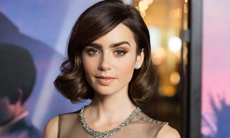 Lily Collins opens up ...