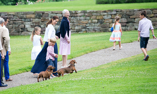 <h2><strong>Queen Margrethe II of Denmark and Prince Henrik</strong></h2><p>Big or small, the Danish king and queen are fans of all types of dogs. Margrethe and Henrik have had a number of canine pets over the years, and as important members of the family, the dogs are often included in official portraits. That is, if they aren't wreaking havoc, running around the palace grounds or being chased by the youngest royals!</p>