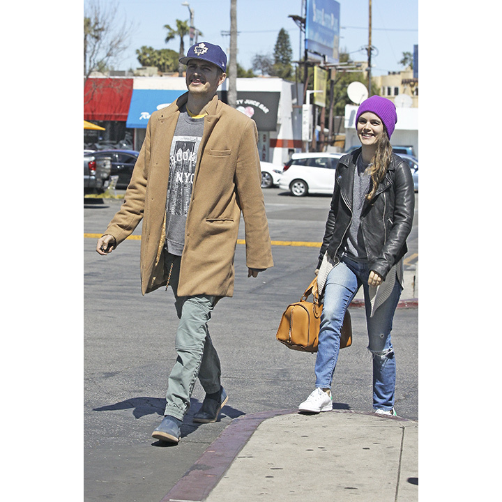 Canadian actor Hayden Christensen showed off his love for the Toronto Maple Leafs during a recent outing in Los Angeles with his longtime love Rachel Bilson. The fiercely private couple, who are hardly ever spotted together, looked casual and cool in their street wear as they ran errands in the sunshine state.