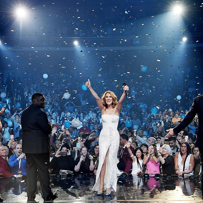 In October 2016, Celine celebrated her staggering 1000th show in Las Vegas. 