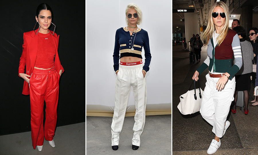 Celebrities like Kendall Jenner, Cara Delevingne and Gwyneth Paltrow have proved that sleek construction, technical fabrics and streamlined designs take athletic-inspired styles from leisure to luxe. 