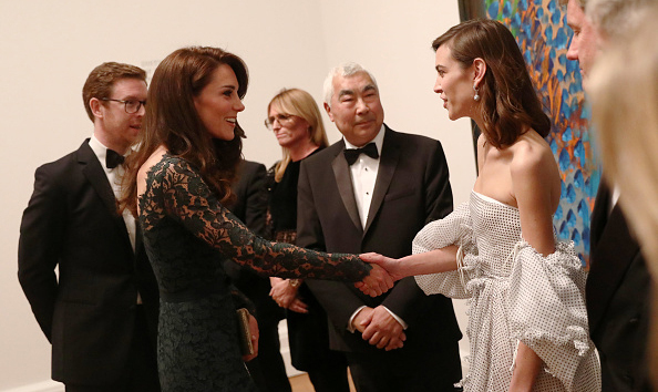 <p>Among the VIP guests was model Alexa Chung, who attended the lavish bash with her father Philip.</p><p>Photo: © Getty Images</p>