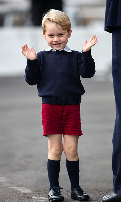 "Last week, Kensington Palace made the announcement in a statement, which read: ""Their Royal Highnesses are delighted to have found a school where they are confident George will have a happy and successful start to his education."""
